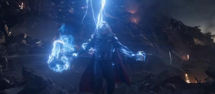 Image of Thor in Avengers: Endgame taken from Slash Film.